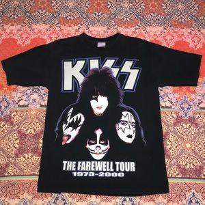 Vintage Kiss Farewell Tour Tee 😈🔥